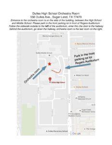 dulles-high-school-map